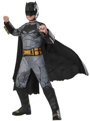 Premium Deluxe Boys Batman Fancy Dress Costume