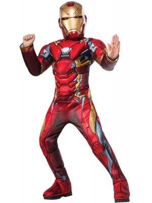 Deluxe Boys Marvel Comics Iron Man Book Week Costume Main Image