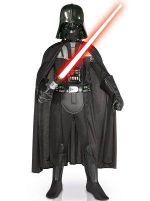 Childrens Darth Vader Star Wars Sith Lord Costume Image 1