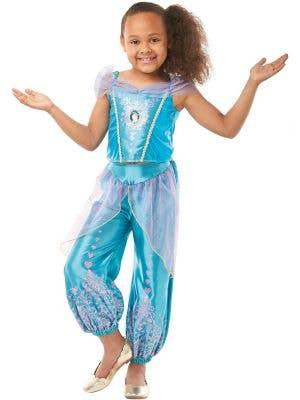 Jasmine Gem Princess Girls Disney Costume