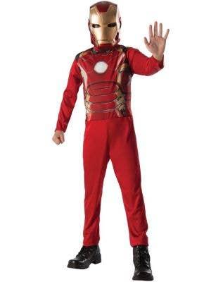 Boys Iron Man Fancy Dress Costume
