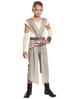 Star Wars Girl Rey Fancy Dress Costume Image 1