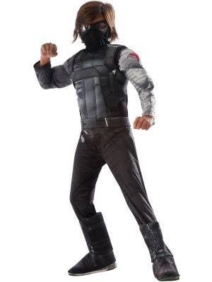Captain America Civil War Winter Soldier Boys Fancy Dress Main Image