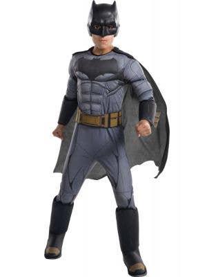 Batman Justice League Boys Muscle Chest Superhero Costume
