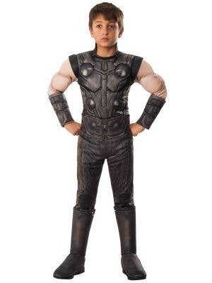 Muscle Chest Boy's Avengers Infinity War Thor Costume