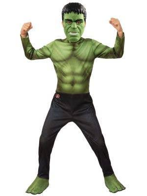 Boys Avengers 4 Hulk Costume