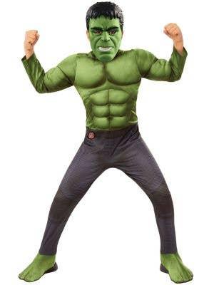 Boy's Deluxe Avengers Infinity War Hulk Costume