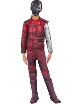 Deluxe Nebula Girls Marvel Comics Book Week Fancy Dress Costume Main Image