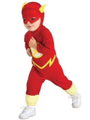 Flash Toddler Red and Yellow Superhero Costume