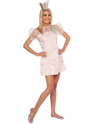 Glam Glinda Good Witch Teen Girl's Wizard of Oz Costume
