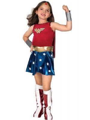Girl's Wonder Woman Costume Front View