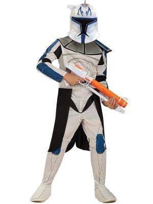 Captain Rex Clone Trooper Star Wars Boys Costume