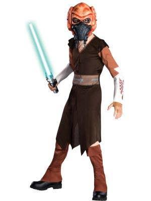 Plo Koon Star Wars Clone Wars Boys Costume Main Image