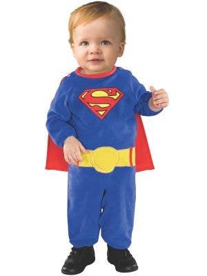 Toddler Boys Classic Superman Fancy Dress Costume