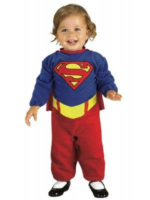 DC Comics Supergirl Infant Girls Costume