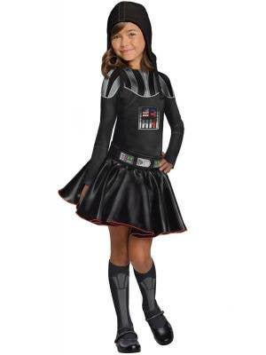 Darth Vader Girl's Star Wars Fancy Dress Costume