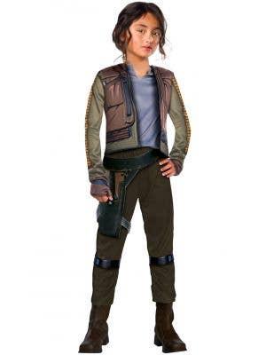 Star Wars Girls Jyn Erso Fancy Dress Costume Image 1