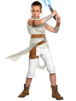 Deluxe Girl's The Rise of Skywalker Rey Star Wars Costume