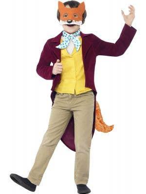 Roald Dahl Fantastic Mr Fox Boys Book Week Costume Front Image