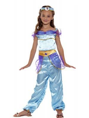 Princess Jasmine Girls Arabian Book Week Costume Front Image