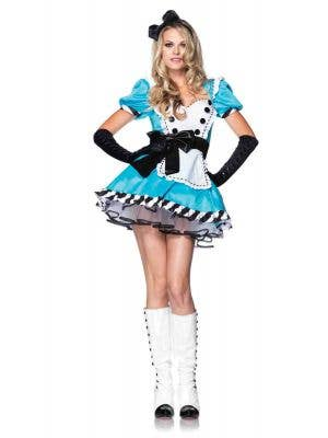 Sexy Alice in Wonderland Women's Costume Front Image