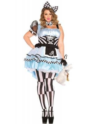Psychedelic Alice Women's Plus Size Wonderland Costume