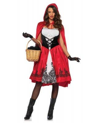 Women's Deluxe Classic Red Riding Hood Costume Main Image