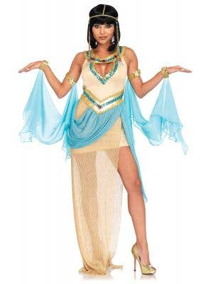 Womens Queen Cleopatra Sexy Costume - Main Image