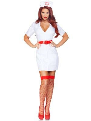 TLC Nurse Women's Sexy Fancy Dress Costume