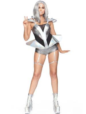 Silver Space Cadet Women's Sexy Costume