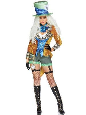 Mad Hatter Women's Deluxe Storybook Costume