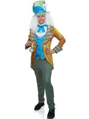 Classic Mad Hatter Deluxe Men's Wonderland Costume