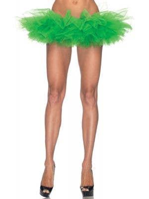 Ruffled Women's Green Costume Tutu