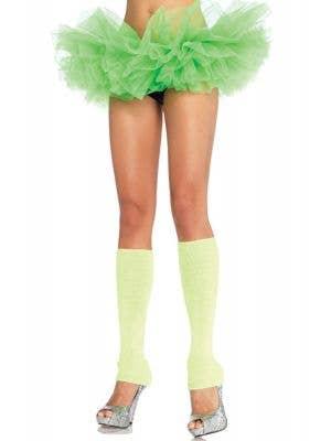 Ruffled Neon Green Women's Costume Tutu