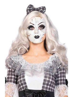Broken Doll Women's Costume Mask Main Image