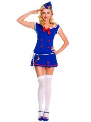 Sassy Sailor Sexy Women's Costume
