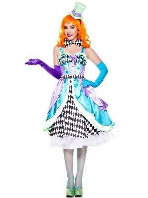 Miss Mad Hatter Women's Fancy Dress Costume