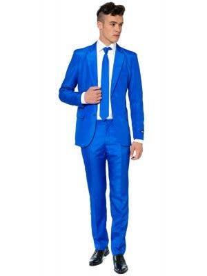 Men's Blue Novelty Suitmeister Fancy Dress Oppo Suit Main Image