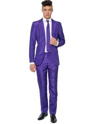 Men's Purple Novelty Suitmeister Oppo Suit Main Image