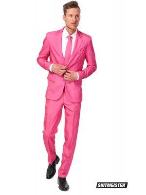 Men's Pink Novelty Suitmeister Oppo Suit Main Image