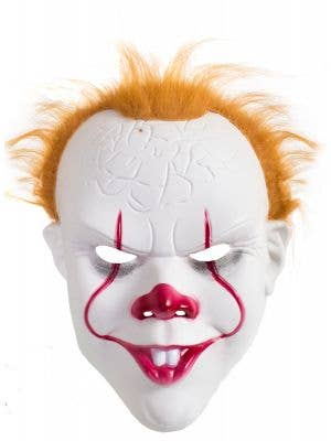 Pennywise the Clown Costume Mask for Adults