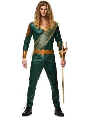 Sea King Men's Aquaman Fancy Dress Costume