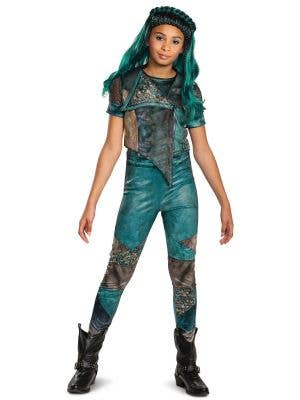 Girls Classic Descendants 3 Uma Fancy Dress Costume Front Image