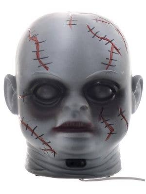 Doll Head Halloween Decoration with Laugh and Light Up Eyes