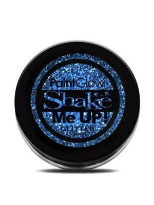 PaintGlow Blue Body Glitter Costume Makeup