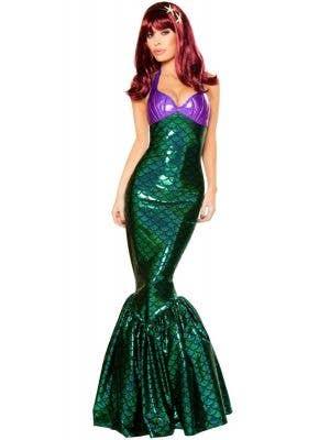 Mermaid Temptress Ariel Women's Fancy Dress Costume