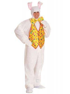Deluxe Men's Plush Easter Bunny Costume