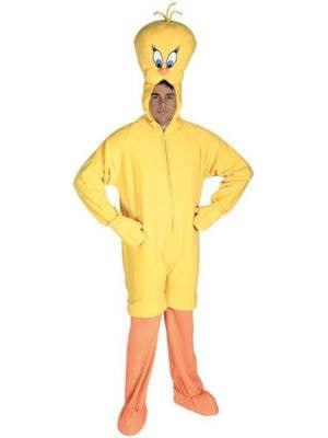 Tweety Bird Adult's Licensed Looney Tunes Costume