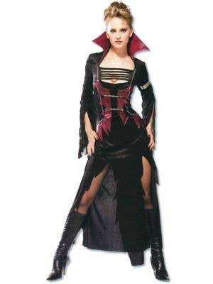 Women's Gothic Vampire Halloween Costume