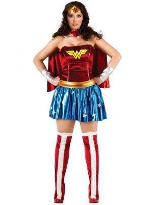 Wonder Woman Plus Size Women's Superhero Costume